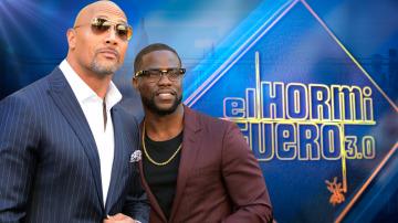 Dwayne Johnson y Kevin Hart en 'El Hormiguero 3.0'