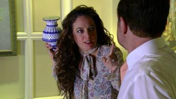 Rafaela amenaza a Demián con contar la verdad sobre la muerte de Lucía