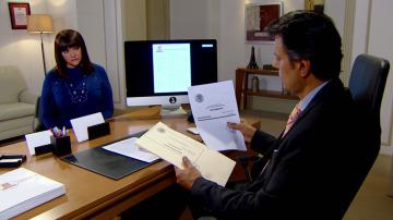Luis le confiesa a Mariana la verdad sobre el testamento de don Fernando
