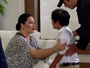 Luis consigue que se lleven al hijo de Carlos de casa