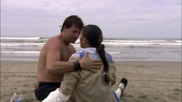 Un joven rescata a Lety del mar