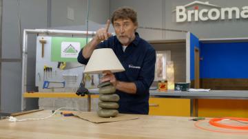 Cómo hacer una lámpara pétrea