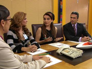 ¿Pelean Leticia y Carla por el amor de Fernando?