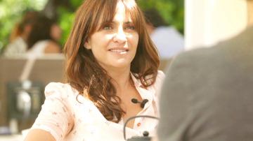 Melanie Olivares y Abel Folk se sinceran con sus personajes en 'La Embajada'
