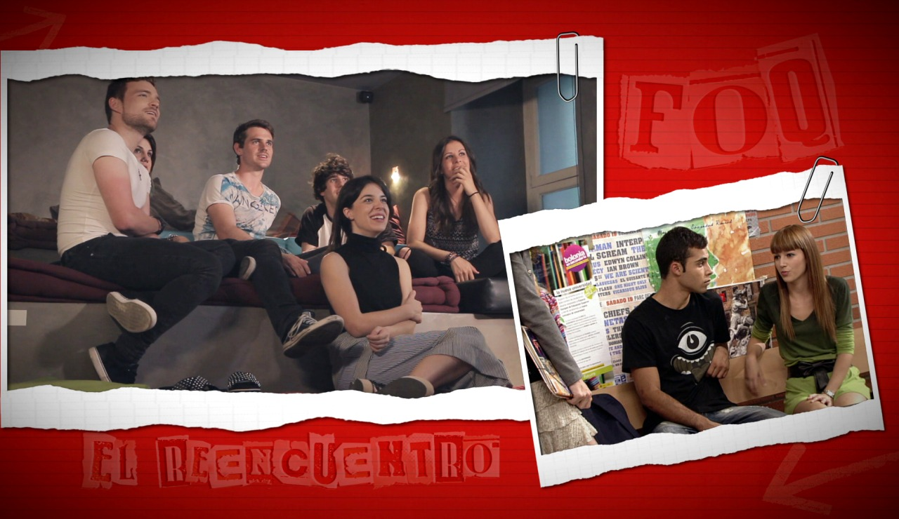 """Los protagonistas de FoQ recuerdan el famoso """"Me quemaría por dentro"""" de Úrsula Corberó"""
