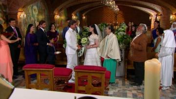 Amelia y Pedro se casan