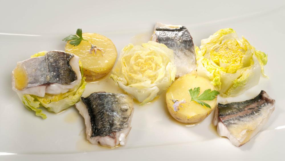 Ensalada de chicharro y patata