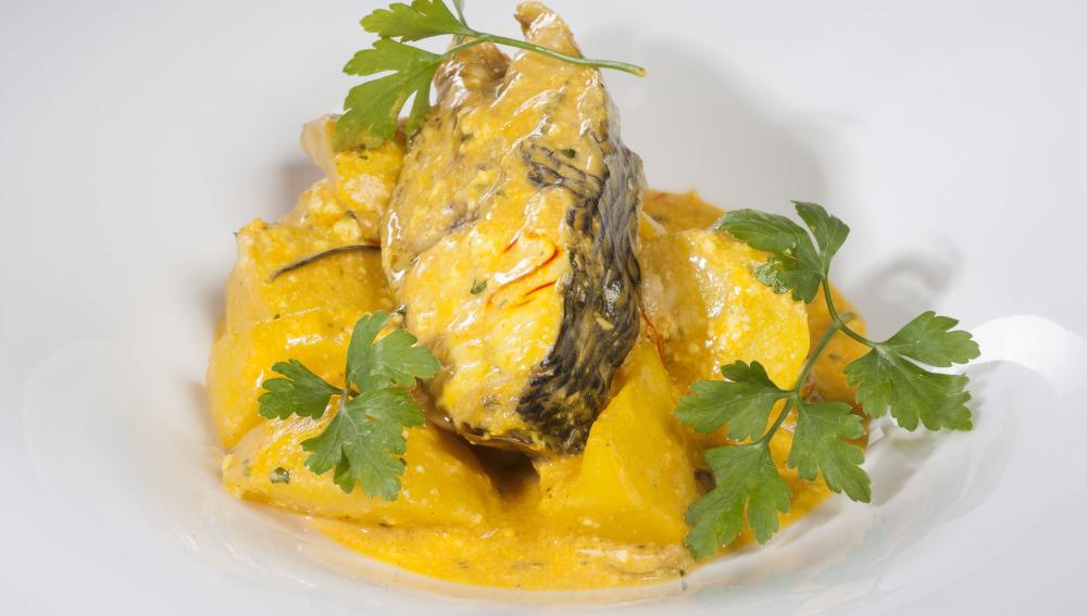 Cocina con Bruno- Patatas y dorada