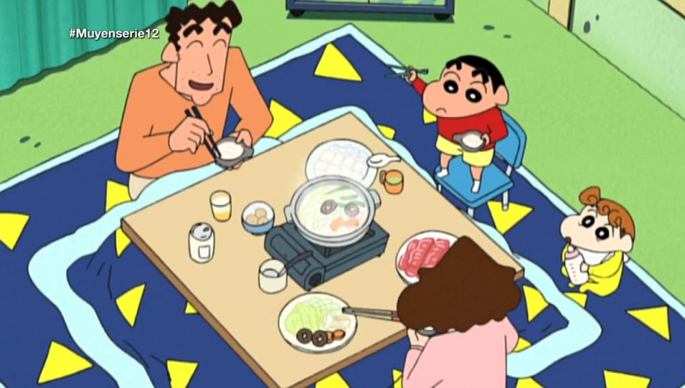 Aprendemos a comer como Sin Chan