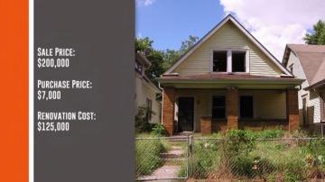 Frame 189.811171 de: Madre e hija reforman una casa quemada