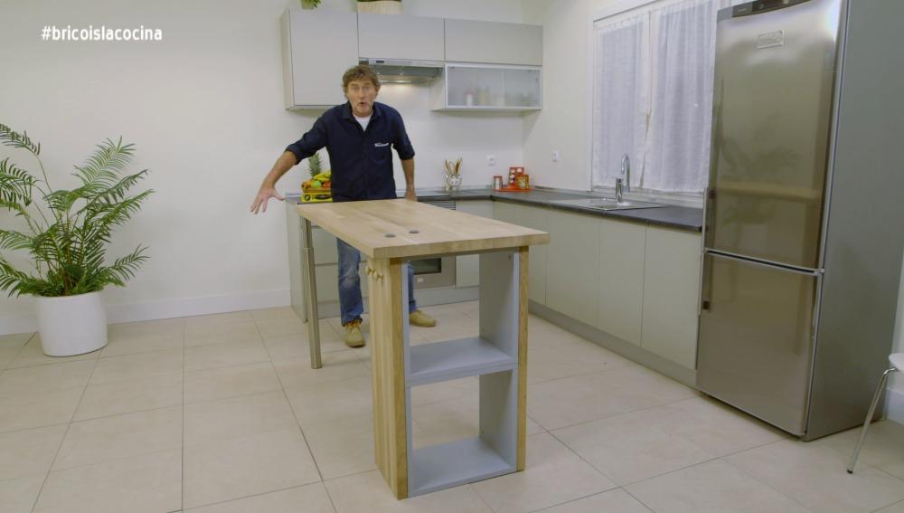 Nova tv construimos una isla para la cocina for Construir isla cocina