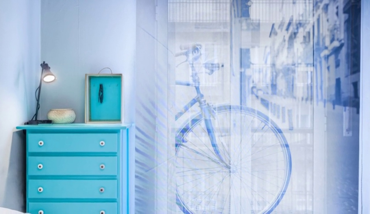 Un dormitorio juvenil transformado en una habitación personalizada