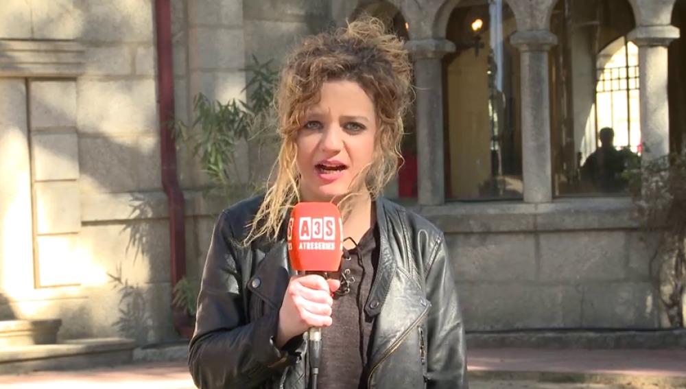 Carlota García envía un mensaje a Sergio Murrillo en el Reencuentro de 'El Internado'