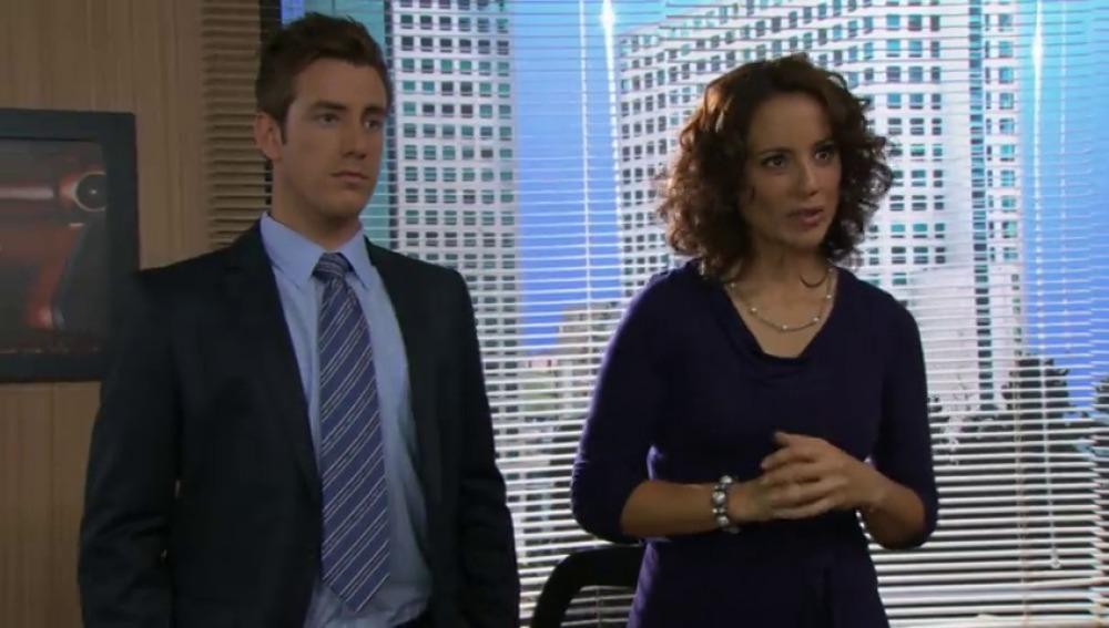 Irene le pide a Diego que le deje a Natalia trabajar con ella