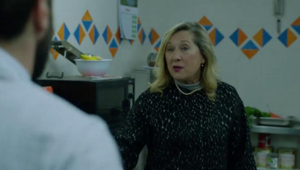 Nerea Garmendia 'repite madre' en la ficción en Allí Abajo