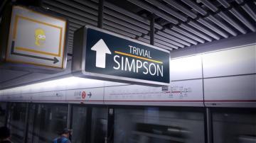 'Los Simpson' llegan a 'La chica de las series'