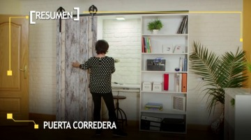 En Bricomanía ten enseñamos a hacer una puerta corredera sin hacer obras