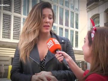 Lorena Gómez, invitada de lujo en La Chica de las series