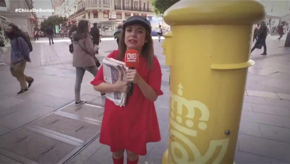 Las 'fake news' llegan a 'La chica de las series'