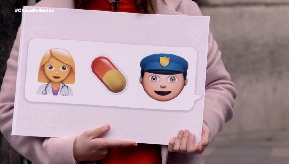 Adivina a qué series se refieren estos emojis