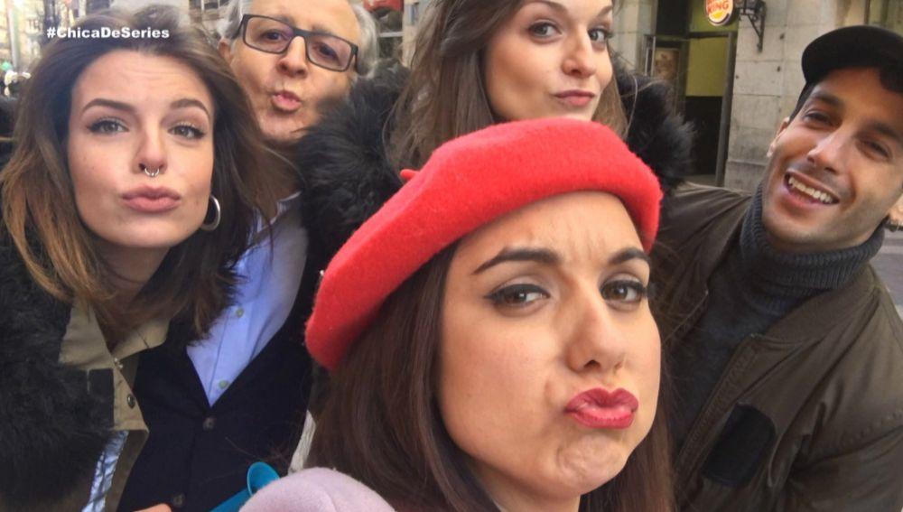 Los protagonistas de 'Amar es para siempre' se van con 'La chica de las series' por San Valentín