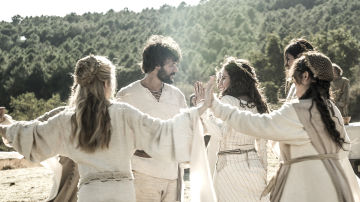 Bernat y Francesca se prometen amor eterno el día de su boda