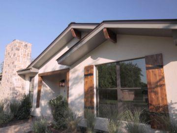 La pequeña casa de la colina sufre una enorme transformación