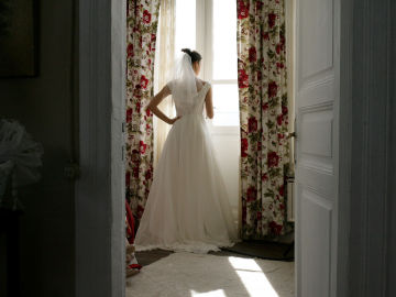 Fatmagül vestida de novia