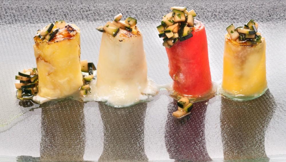 Rollito de frutas