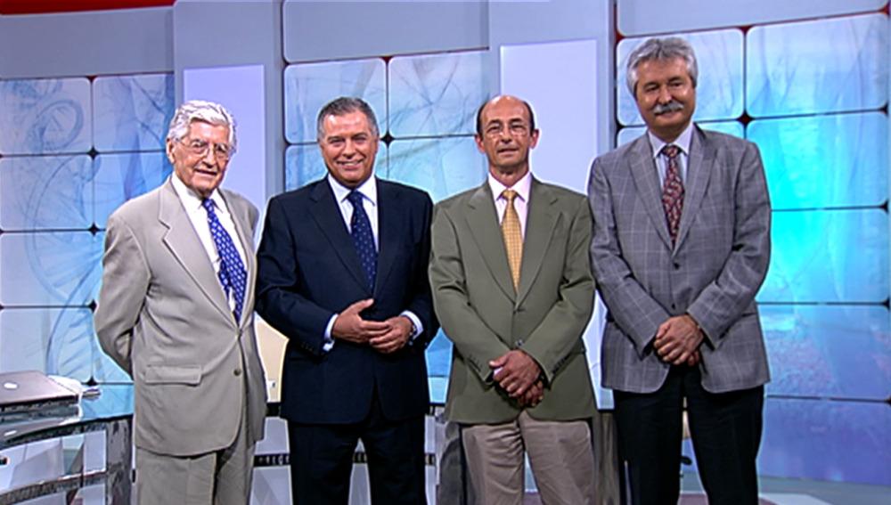 El Dr. Beltrán y los colaboradores