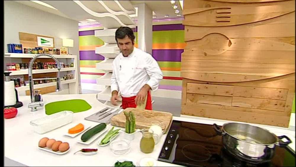 Pastel de verdura