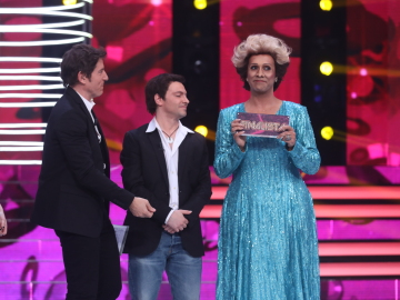Cristóbal Garrido gana la primera gala de 'TCNMST' interpretando a Olga Guillot y su tema 'Soy lo prohibido'