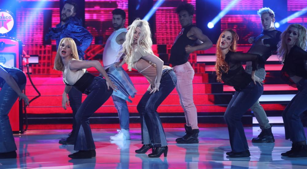 Patricia Aguilar, una verdadera diva pisando fuerte el escenario como Britney Spears