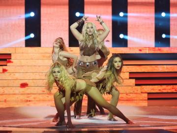 María Guillén mueve las caderas al ritmo de Shakira con 'Suerte'