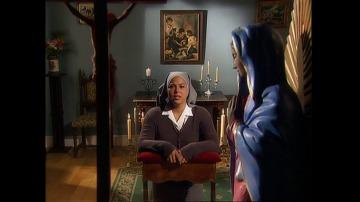 La hermana Anunciación intenta combatir la tentación