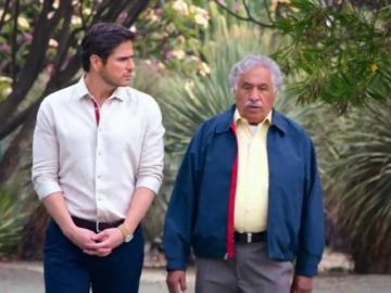 Las confidencias entre Robert y Eugenio que lo pueden cambiar todo